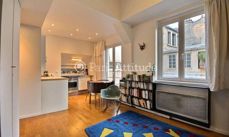Location Appartement Studio 27m² impasse Saint Claude, 3 Paris