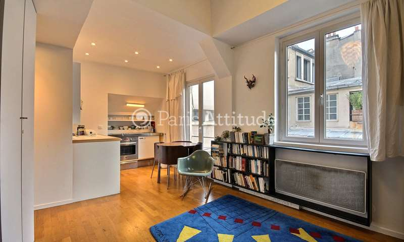 Location Appartement Studio 27m² impasse Saint Claude, 75003 Paris