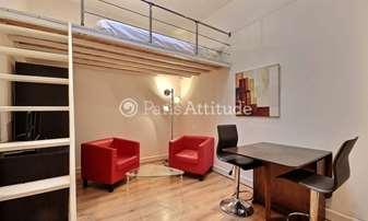 Rent Apartment Studio 18m² avenue Foch, 16 Paris