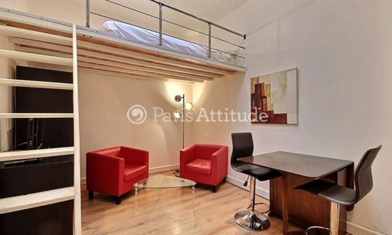 Rent Apartment Studio 18m² avenue Foch, 16 Paris
