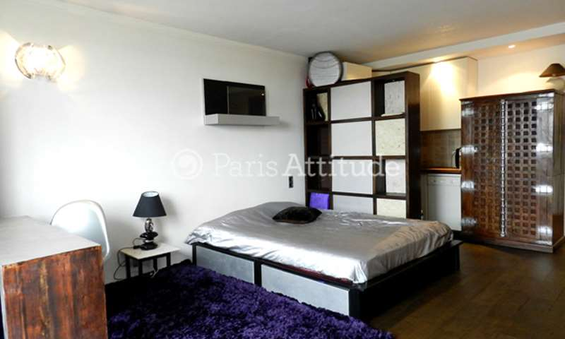 Location Appartement Studio 33m² rue Lauriston, 75016 Paris