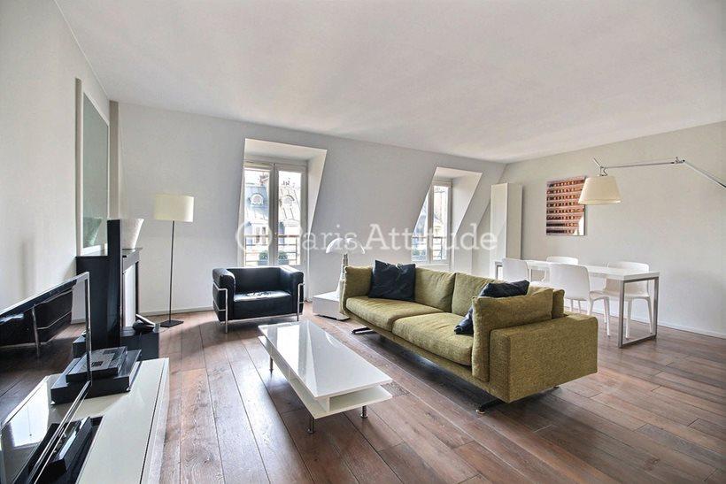Rent furnished Apartment 2 Bedrooms 82m² rue Alphonse de Neuville, 75017 Paris