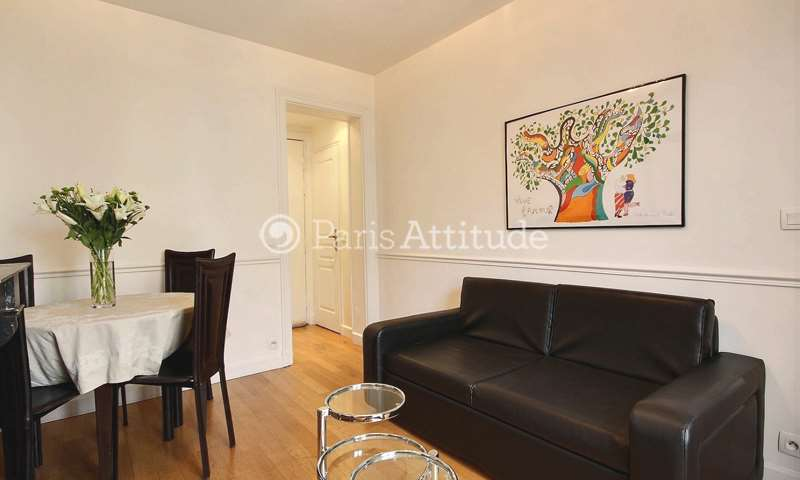 Rent Apartment 1 Bedroom 32m² Rue de l Amiral Hamelin, 75016 Paris