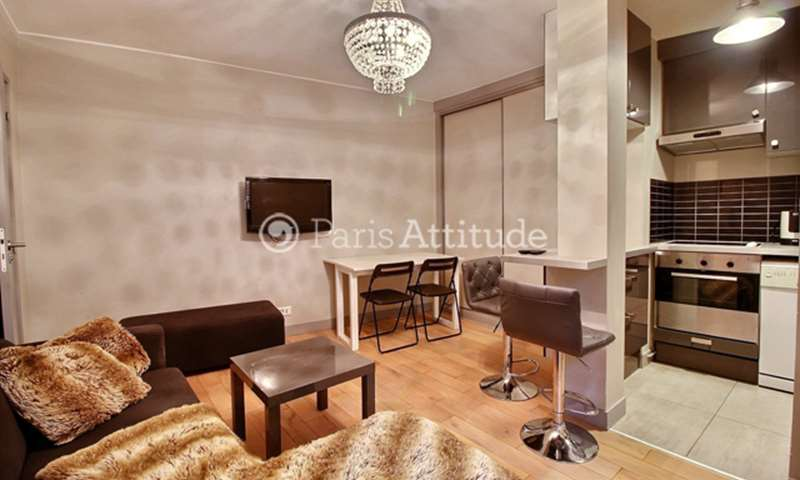Rent Apartment 1 Bedroom 33m² rue du General Bertrand, 75007 Paris