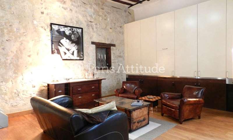 Location Loft 1 Chambre 64m² rue d Aboukir, 2 Paris