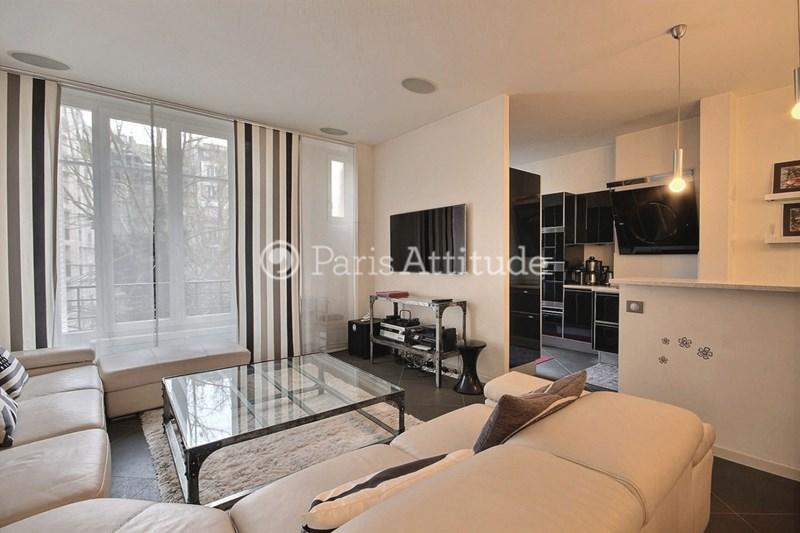 Rent Apartment 2 Bedroom 102m² rue Albert Samain, 75017 Paris