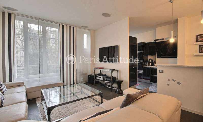 Rent Apartment 2 Bedrooms 102m² rue Albert Samain, 17 Paris