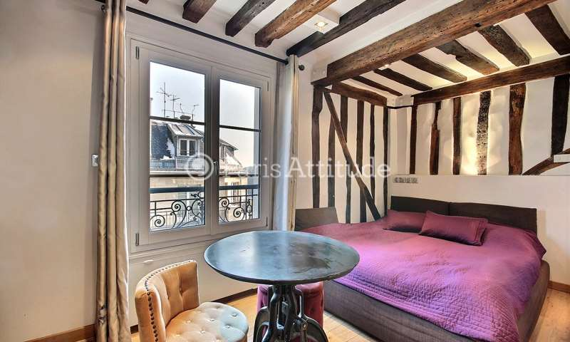 Location Appartement Studio 22m² rue des Deux Ponts, 75004 Paris