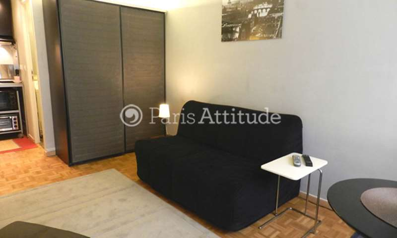 Rent Apartment Studio 18m² rue de Dantzig, 15 Paris