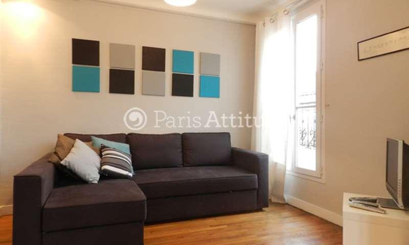 Rent Apartment 1 Bedroom 40m² rue Jean Maridor, 15 Paris