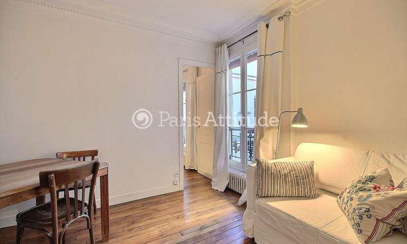 Rent Apartment 1 Bedroom 32m² rue Camille Tahan, 75018 Paris