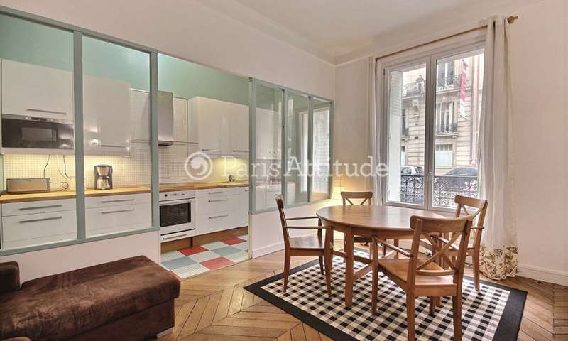 Rent Apartment 2 Bedrooms 70m² rue Jouffroy d Abbans, 75017 Paris