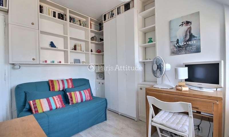 Location Appartement Studio 15m² rue du Cherche Midi, 6 Paris