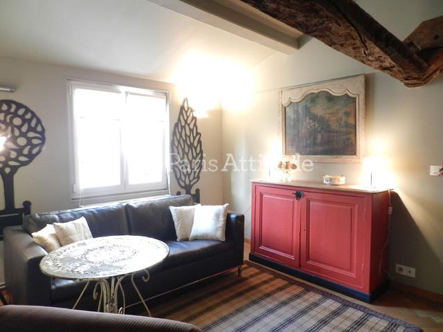 louer un appartement paris 36 m ile saint louis 7974. Black Bedroom Furniture Sets. Home Design Ideas