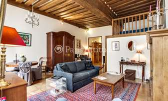 Rent Apartment 1 Bedroom 40m² rue Le Regrattier, 4 Paris