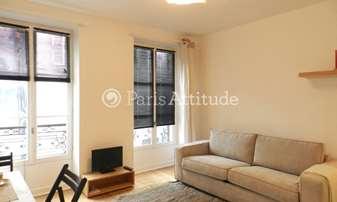 Location Appartement Studio 22m² rue Tholoze, 18 Paris