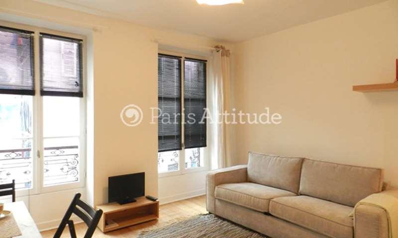 Rent Apartment Studio 22m² rue Tholoze, 18 Paris