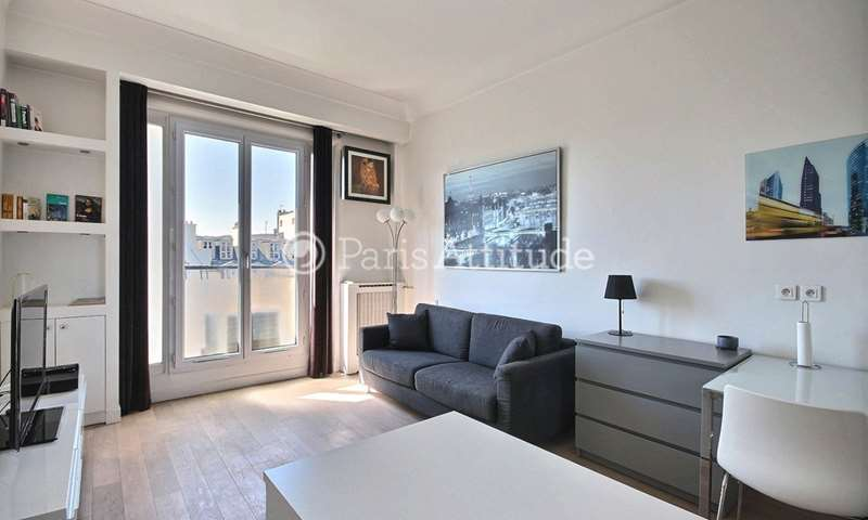Rent Apartment Studio 25m² boulevard de la Madeleine, 9 Paris
