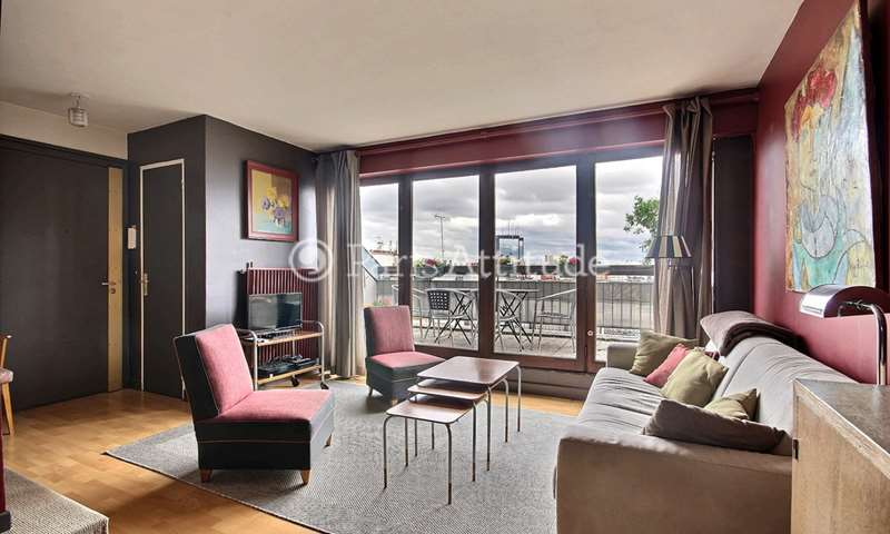 Rent Apartment 1 Bedroom 50m² avenue Gambetta, 20 Paris