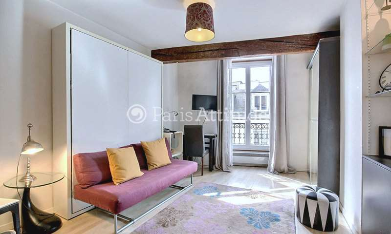 Location Appartement Studio 24m² rue des Tournelles, 75004 Paris