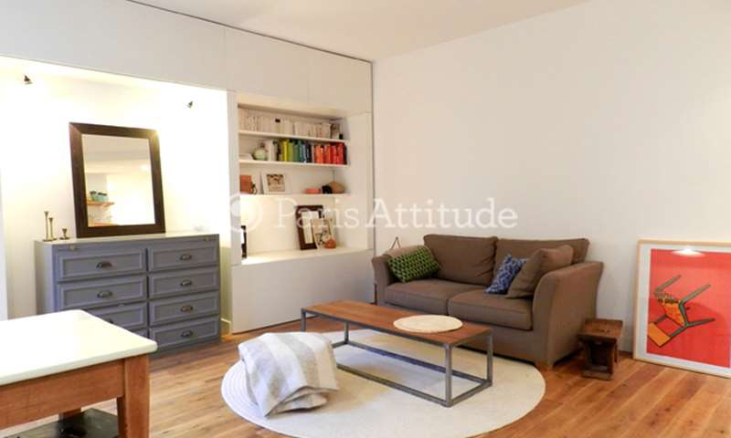Rent Apartment 1 Bedroom 36m² rue des Goncourt, 11 Paris