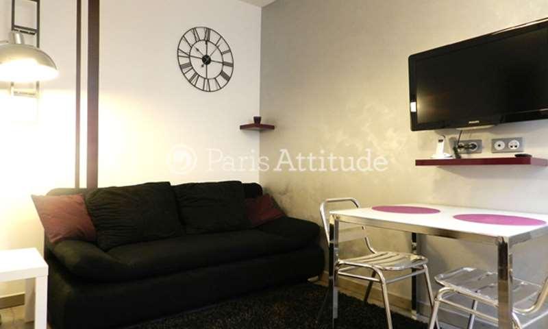 Rent Apartment 1 Bedroom 25m² rue du Morvan, 11 Paris