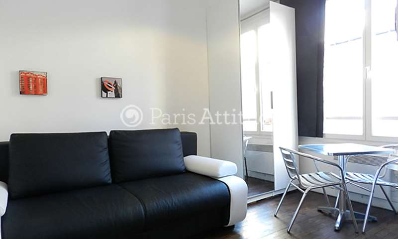 Rent Apartment Studio 17m² boulevard de Charonne, 75011 Paris