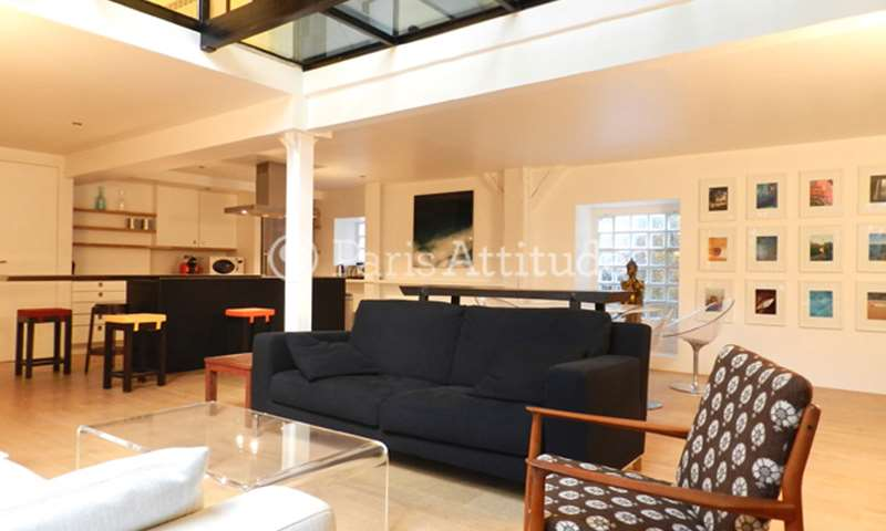 Rent Loft 2 Bedroom 125m² rue Alibert, 75010 Paris