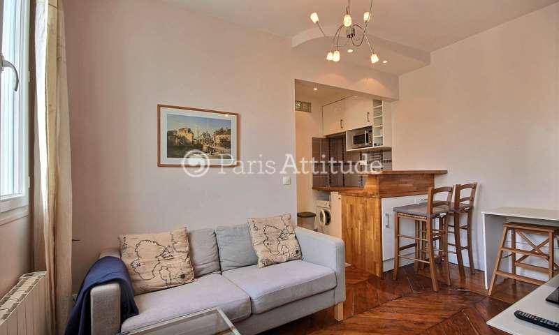 Location Appartement Alcove Studio 24m² boulevard Voltaire, 75011 Paris