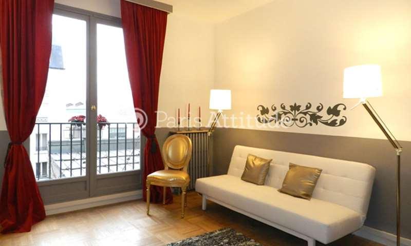 Rent Apartment Studio 34m² quai Louis Bleriot, 16 Paris