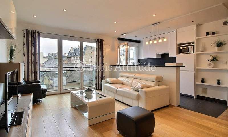 Rent Apartment 1 Bedroom 70m² rue Beethoven, 16 Paris