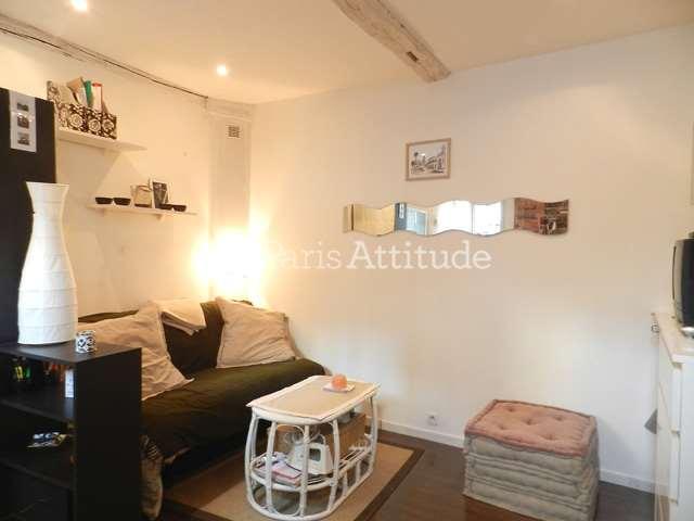 Rent furnished Townhouse Studio 15m² passage du Moulin des Pres, 75013 Paris