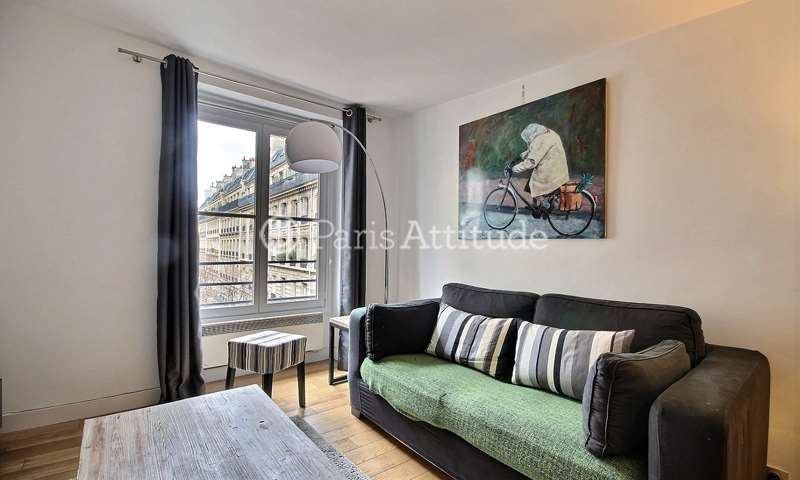 Rent Apartment 1 Bedroom 43m² rue Vieille du Temple, 4 Paris