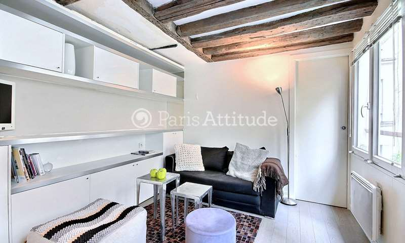 Rent Apartment 1 Bedroom 25m² rue Vieille du Temple, 75004 Paris