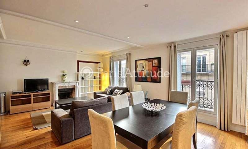 Rent Apartment 2 Bedrooms 78m² rue Gustave Courbet, 75016 Paris