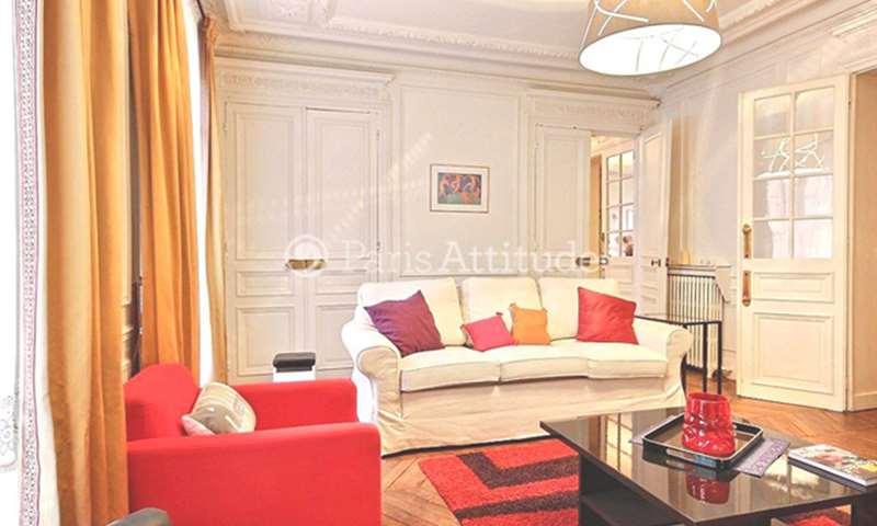 Rent Apartment 3 Bedrooms 126m² rue des Saints Peres, 75006 Paris