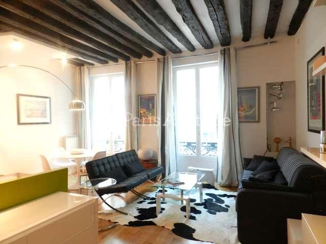 Rent furnished Apartment 1 Bedroom 49m² rue d Aboukir, 75002 Paris