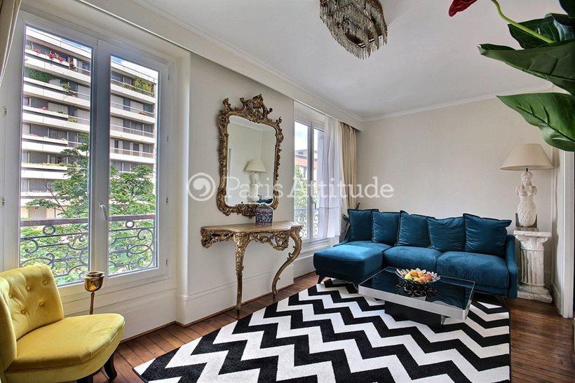 Louer Appartement meublé 1 Chambre 37m² rue Ordener, 75018 Paris
