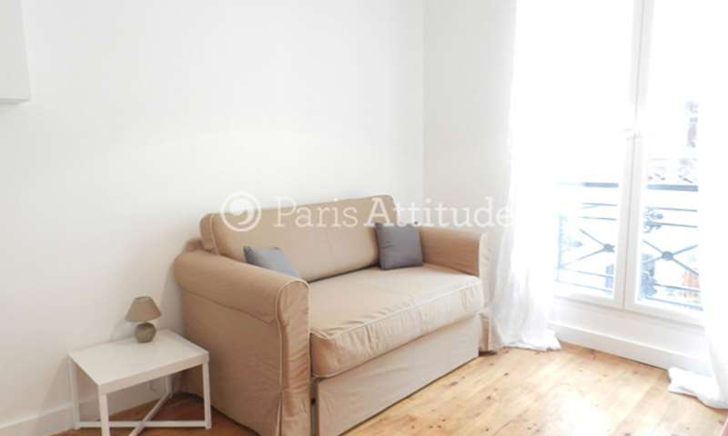 Rent Apartment 1 Bedroom 22m² rue de la Folie Mericourt, 75011 Paris
