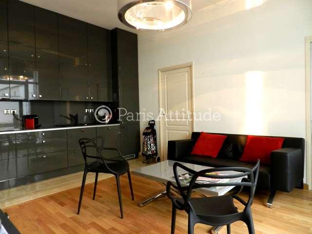 Rent furnished Apartment 1 Bedroom 43m² rue de la Croix Nivert, 75015 Paris