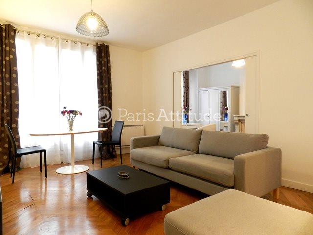 Rent furnished Apartment 2 Bedrooms 61m² rue Singer, 75016 Paris