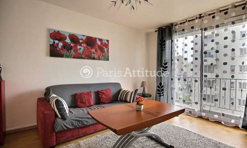 Rent Apartment 1 Bedroom 42m² rue de Lourmel, 75015 Paris