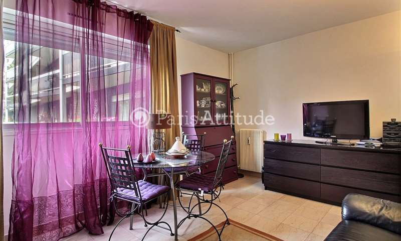 Rent Apartment Alcove Studio 31m² rue Saint Saens, 75015 Paris