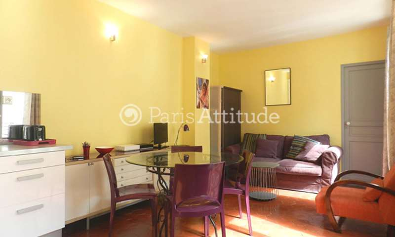 Rent Apartment 1 Bedroom 30m² rue Reaumur, 75003 Paris