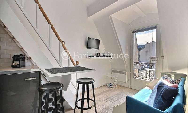 Location Duplex Alcove Studio 20m² rue des Gravilliers, 3 Paris