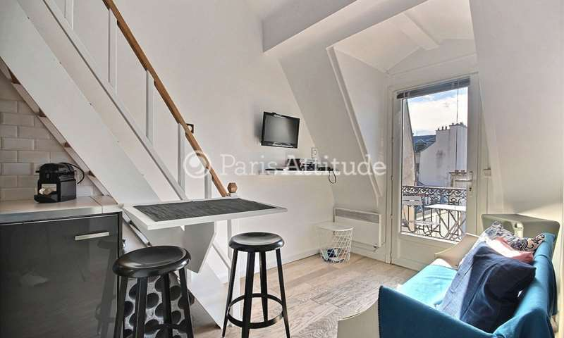 Location Duplex Alcove Studio 20m² rue des Gravilliers, 75003 Paris