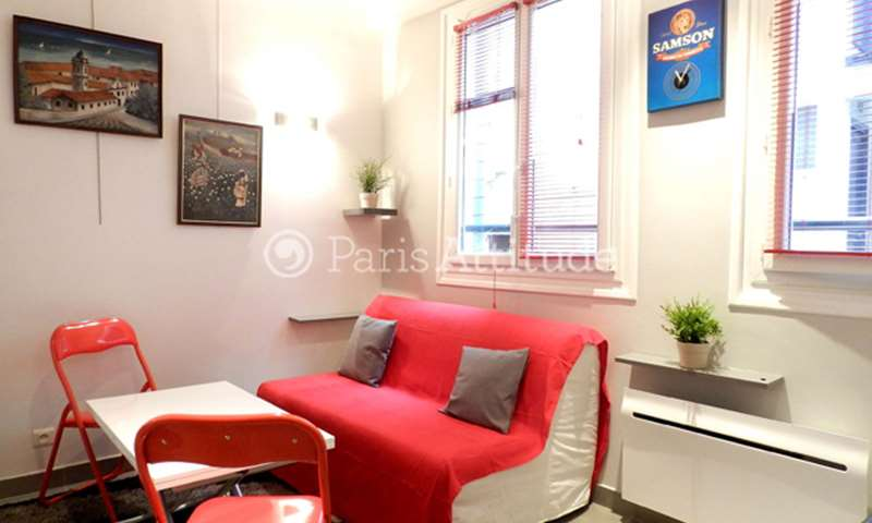 Rent Apartment Studio 15m² rue Charles V, 75004 Paris