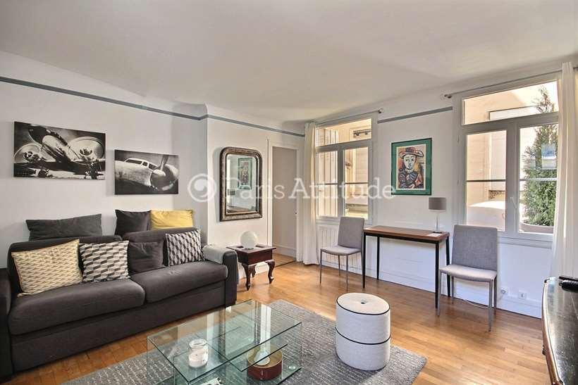 Louer Appartement meublé 1 Chambre 41m² rue des Coutures Saint Gervais, 75003 Paris