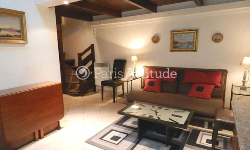 Rent Townhouse Alcove Studio 32m² rue de Seine, 75006 Paris