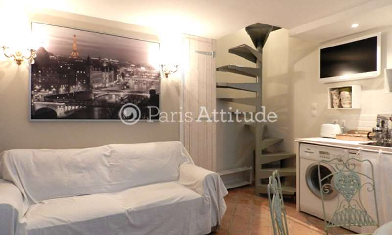 Rent Townhouse 2 Bedroom 40m² rue Quincampoix, 75004 Paris
